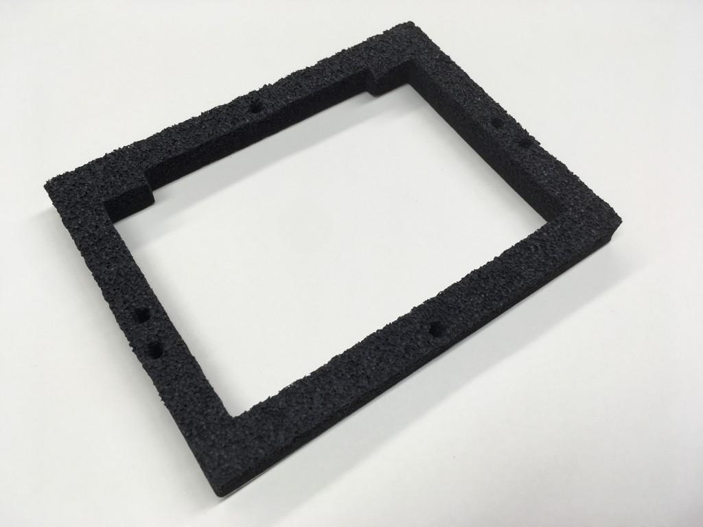 .5 Crushed EPDM Sponge Gasket 1