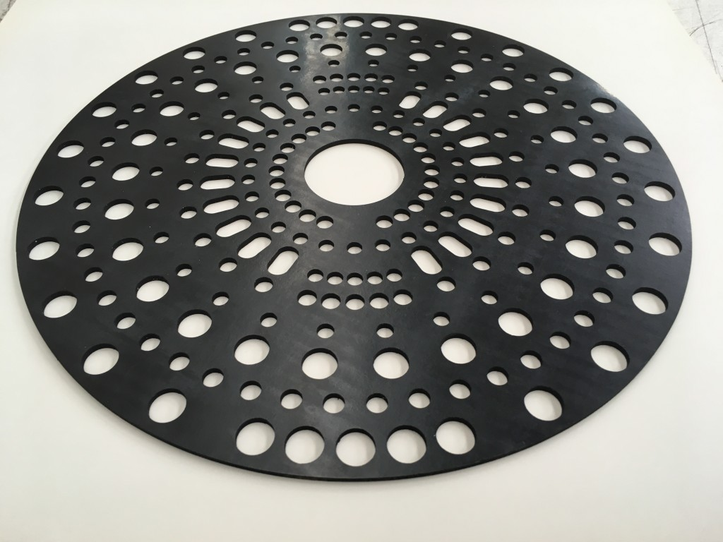 Circle with Many Holes 8